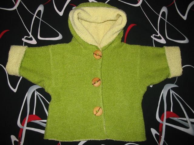 Вязание детская кофточка без швов 9